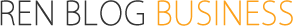 REN BLOG BUSINESS - レンブログ ビジネスのフッターロゴ